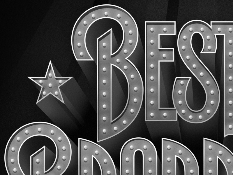 Best of Broadway (detail) lettering type custom lettering lettering art apple pencil ipad pro hand lettering type design typogaphy vector typophile lettering design illustration design broadway glitz neon sign signage theatre