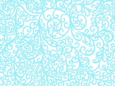 Wall Growth pattern swirls abstract illustration digital art