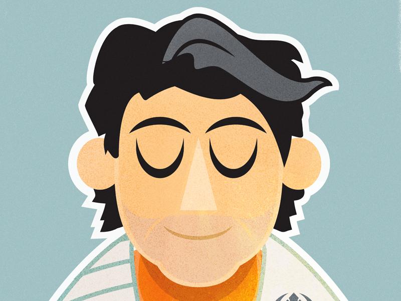 The New Faces of Star Wars: POE DAMERON star wars orange photoshop graphic design vector illustrator
