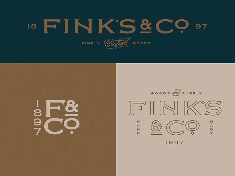 Branding in-progress vintage lettering identity monogram script typography logo branding