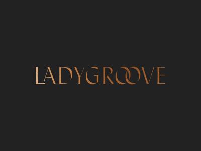 Ladygroove wordmark exploration