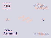 The Annual branding