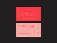 NMDC business cards