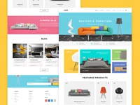 Furniture eCommerce Theme