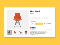 Chair Product Page
