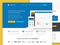 LemonStand Website Home Page