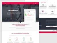 LiveTracking Landing Page