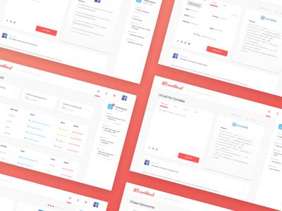 Throwback: Worklocal Platform dashboard ux ui platform freelance worklocal