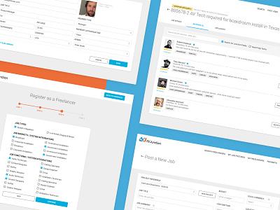 AV Junction Marketplace digital product forms onboarding ux ui dashboard marketplace av