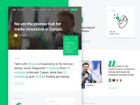 Next Media Accelerator - Website