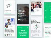 Mobile - Next Media Accelerator Website