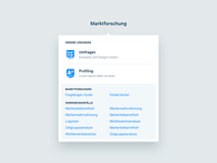 Appinio Marketing Website - Menu