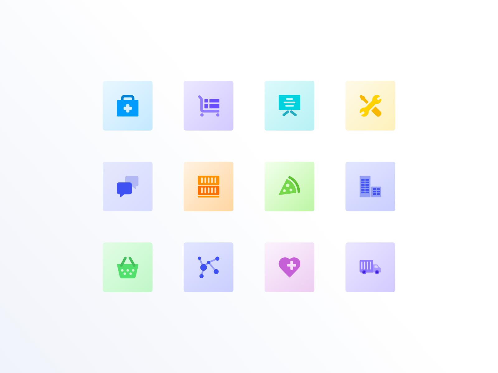 Simcog - icons