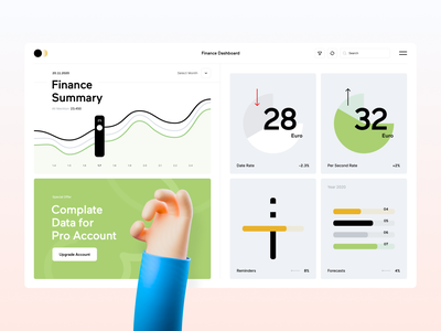 Finance Dashboard simple figma design user interface experience minimal app ux ui dashboard finance