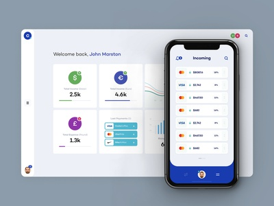 Crypto's - Finance Dashboard & Mobile wallet finance crypto ux iphone ui app simple mobile minimal design art