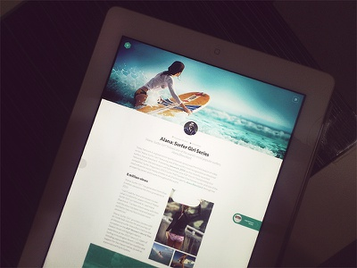 Blog.psd psd user interface ui blog modern layout clean article