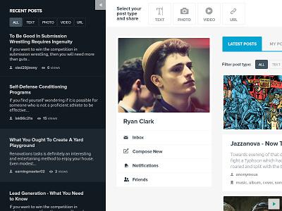 Copytaste.com Redesign copytaste design ux user interface layout responsive full width clean