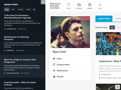 Copytaste.com Redesign