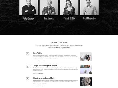 Credenza - One Page WP onepage web design wp theme wordpress portfolio agency freelance