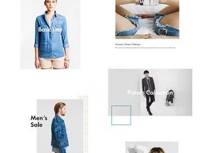 Eleven Paris Re-design shop ecommerce fashion simple modern redesign web