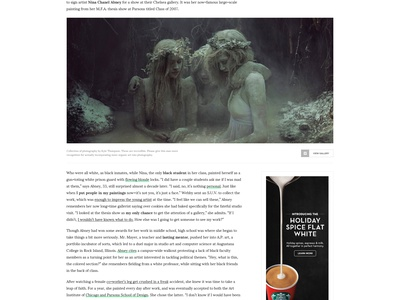 Noise - Magazine minimal journal clean modern news blog magazine noise
