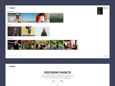 TWFLD - Photography Theme photo gallery album full screen light dark photography theme wp