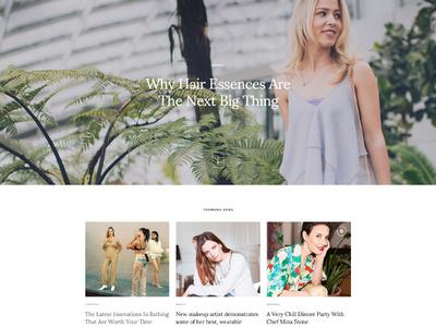 Christina - Fashion & Lifestyle black white blog envato themeforest wordpress feminine magazine