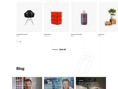W Store  website ux ui store shop interaction fashion ecommerce