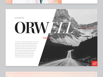 Typography Exploration No.1 article minimal font editorial magazine type typography