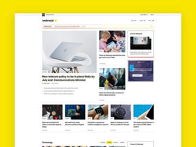 Webrazzi design ux web typography blog article editorial magazine