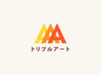 トリプルアート Logo Concept #1