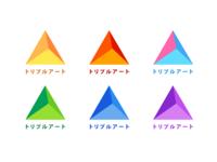 トリプルアート Logo Concept #2
