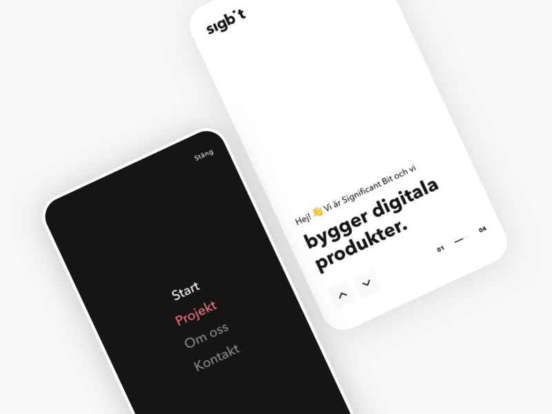 Significant Bit Mobile Redesign