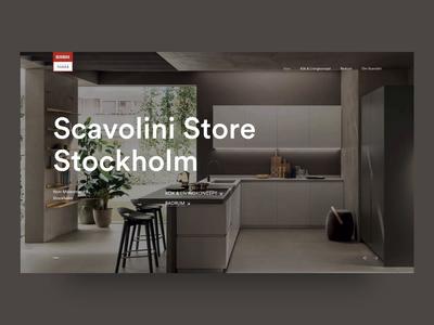 Scavolini Store Stockholm