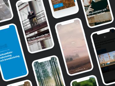 Tekniska verken 2018 Mobile Screens