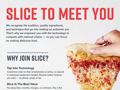 Pizza Magazine Insert