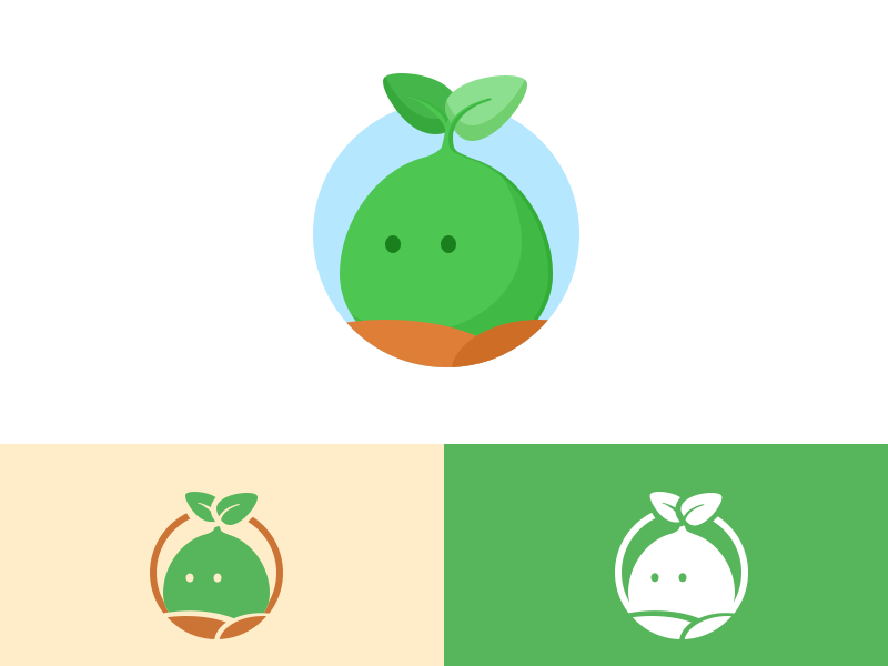 Farm plant logo