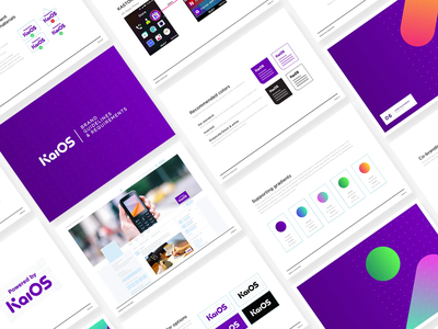 KaiOS Guidelines Vol. 2 print google smartphone graphic design connection technology os mobile software kaios feature phone guidelines brand guidelines