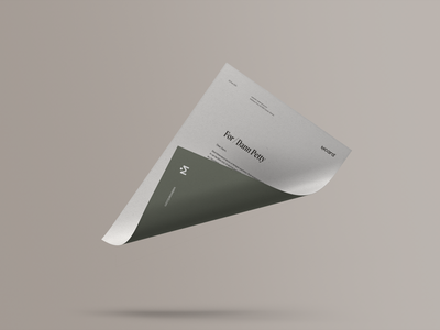 Watercard® — Print Collateral recycle envelope stationary letterhead business card booth design businesscard earth green brand identity charity creditcard water watercard print design print