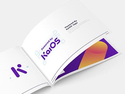 KaiOS Brand Guidelines vibrant purple print book guidelines branding digital technology kaios