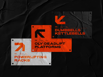 Velo signs black orange logo typography workout fitness gym athletic graphic design branding and identity branding directions signage signs