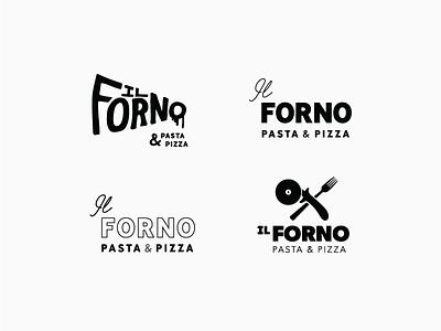 Il Forno Logos vector typography icon logomark lettering brand design branding design branding restaurant logo restaurant logo design logo
