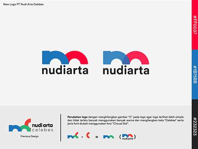 Nudi Arta Concept branding logo