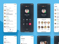 Telegram Calls Concept
