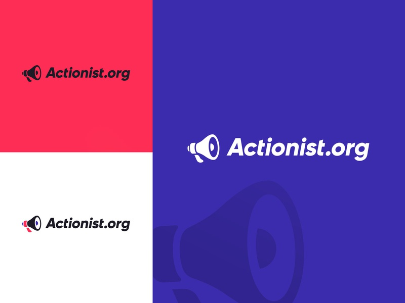 Actionist.org Logo campaign election activist activism political politics actionist marketing branding design logo