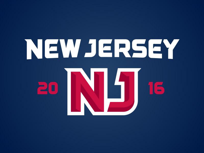 New Jersey type team logo sports state garden state nj jersey new new jersey