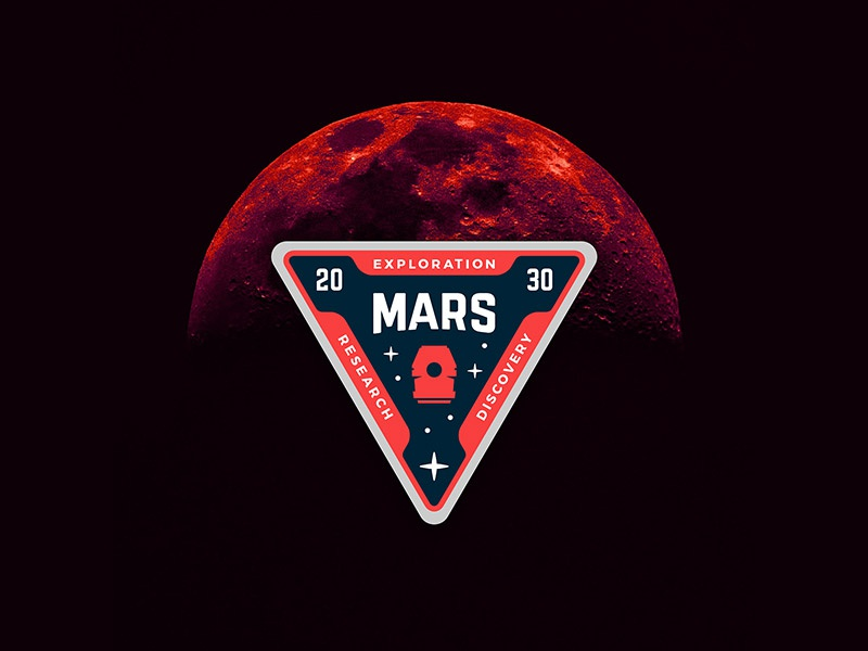 Rover Com Careers >> Mars Patch by Mike McDonald on Dribbble