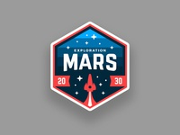 Mars Mission Patch