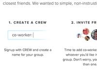 Homepage Steps