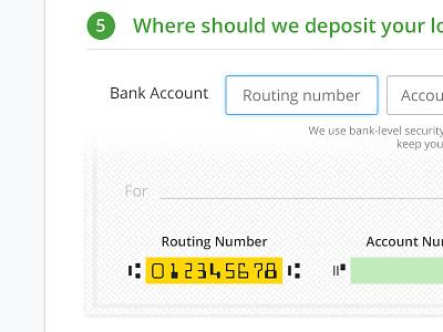 Bank Information bank information money check loan avantcredit